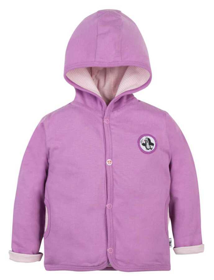 Kabátek oboustranný KRTEK Tulipán děvče 62 cm - BabyBoo 5b45560dab