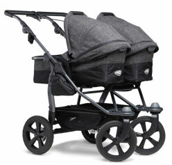 Duo combi push chair - air chamber wheel prem. anthracite