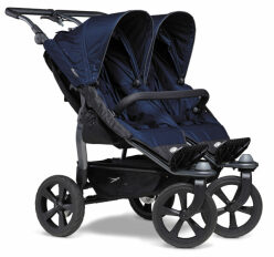 Duo stroller - air chamber wheel navy