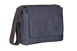 Přebalovací taška Green Label Small Messenger Bag Update denim blue