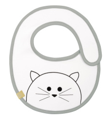 Bryndák Small Bib Waterproof Little Chums cat