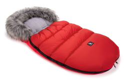 COTTONMOOSE FUSAK ZIMNÍ MOUSE RED GREY